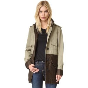 NWT Rag & Bone Kinsley Cocoon Coat/Utility Jacket